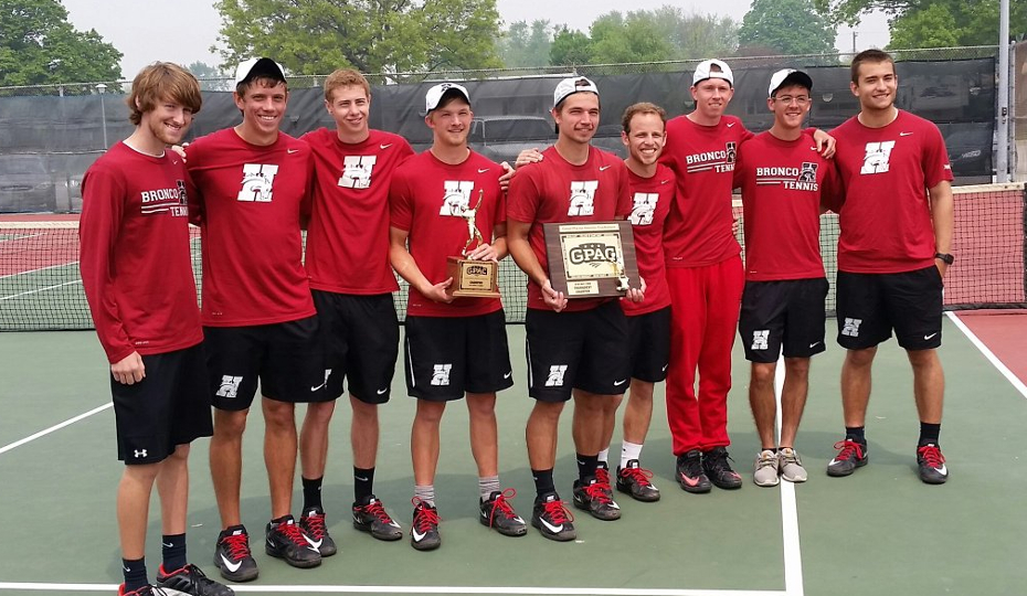 Photo for Men's Tennis Sweeps GPAC All-Conference Awards