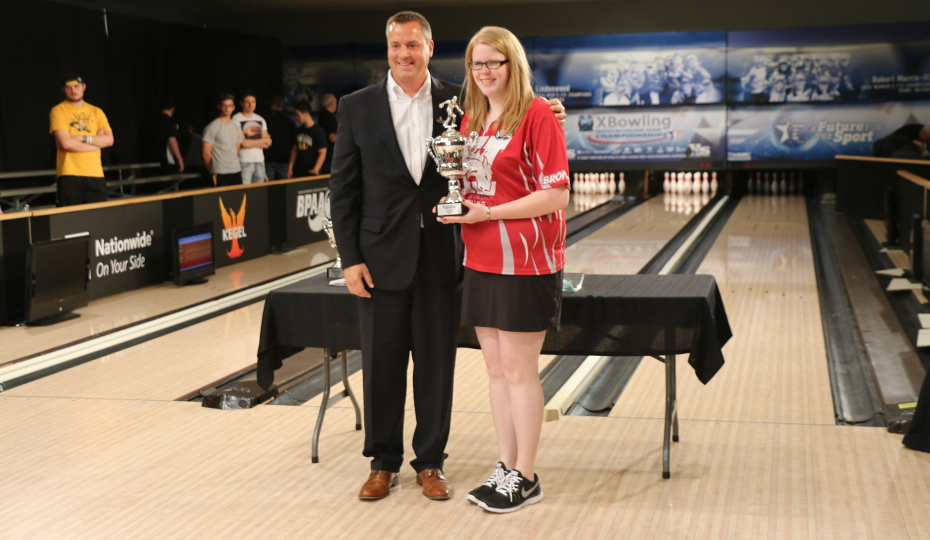 Photo for Eckhoff Finishes 2nd at USBC Intercollegiate Singles Sectional
