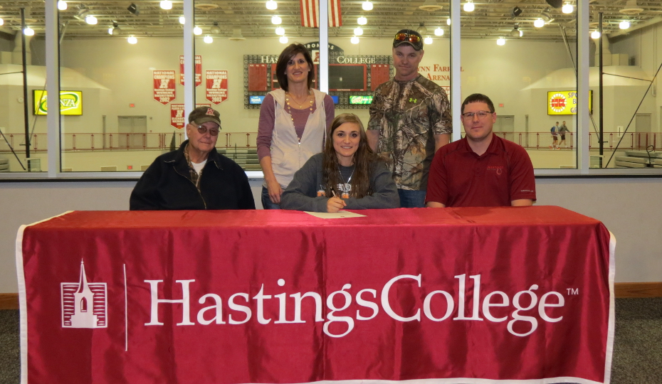 Photo for Worden Signs with Hastings College Trapshooting