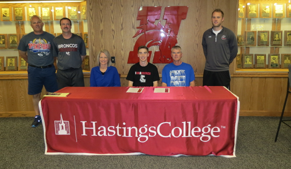 Photo for Esch of St. Cecilia Signs With Hastings College