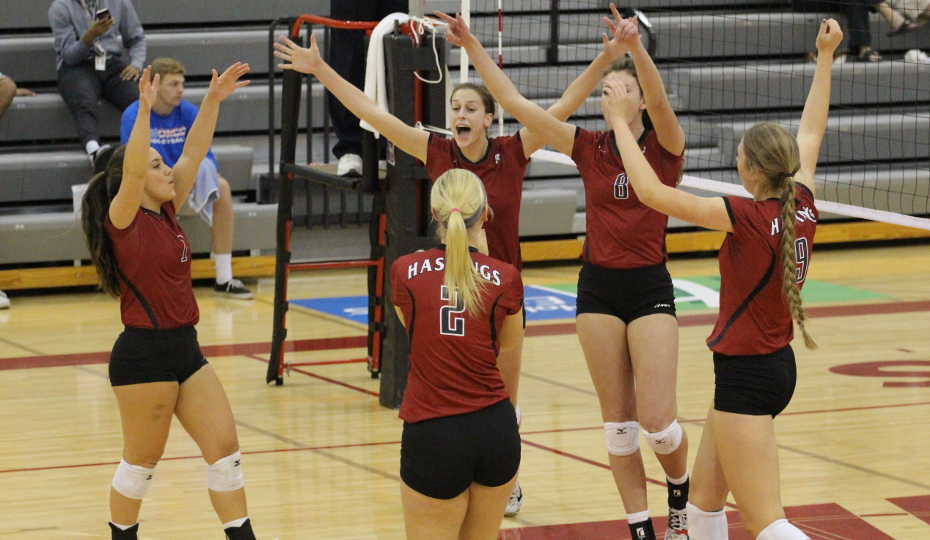 Photo for Volleyball Takes 1st in Coaches' Poll
