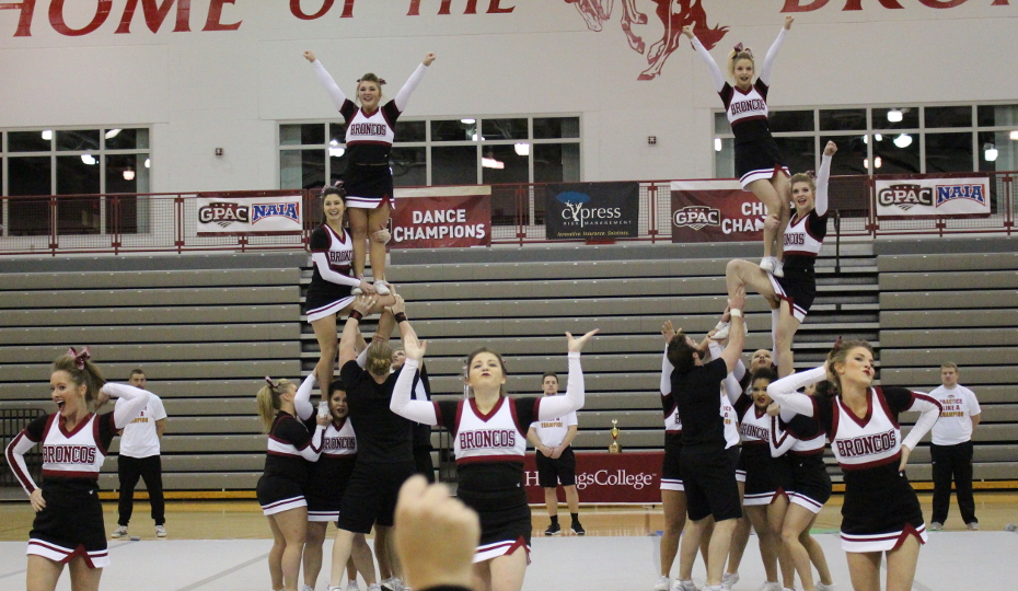 Photo for Cheer Places 4th at Regionals