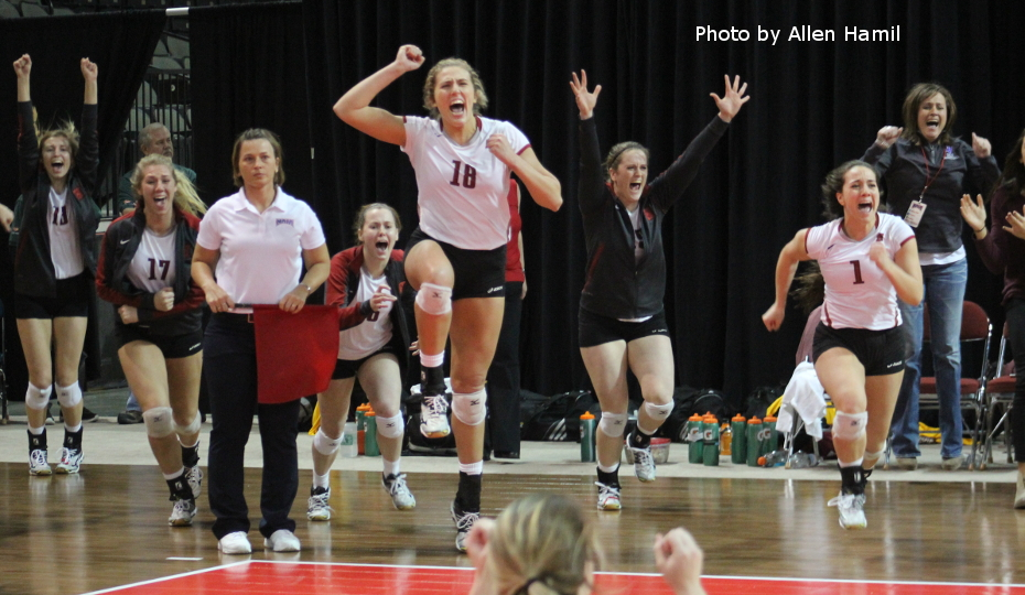 Photo for Finals Bound: Broncos Advance in NAIA Volleyball Tourney