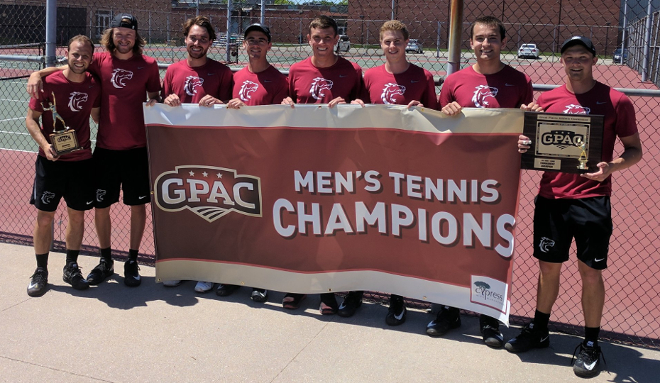 Photo for Men's Tennis to Face Cardinal Stritch in Opening Round
