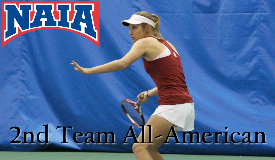 Photo for Brown Picks up 1st Ever All-American Honor for Women's Tennis