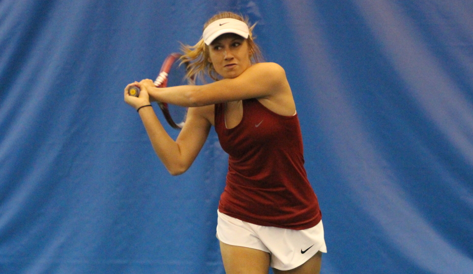 Photo for Brown Wins at No. 1 Singles; Women's Tennis Falls at Nationals