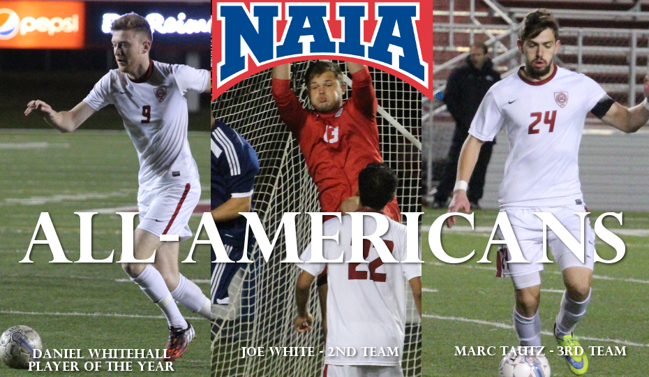 Photo for Whitehall NAIA Player of the Year; White and Tautz also All-Americans