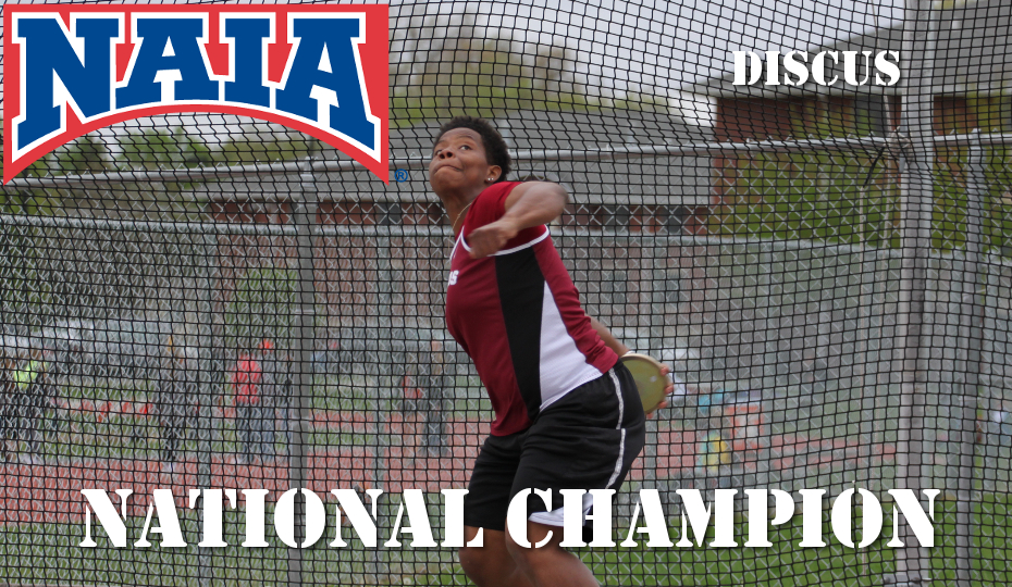 Photo for Thompson National Champ in Discus; Women Finish 7th