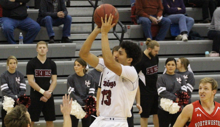 Photo for Men's Basketball Ousted by Northwestern; Musiel Eclipses 1,000 Career Points