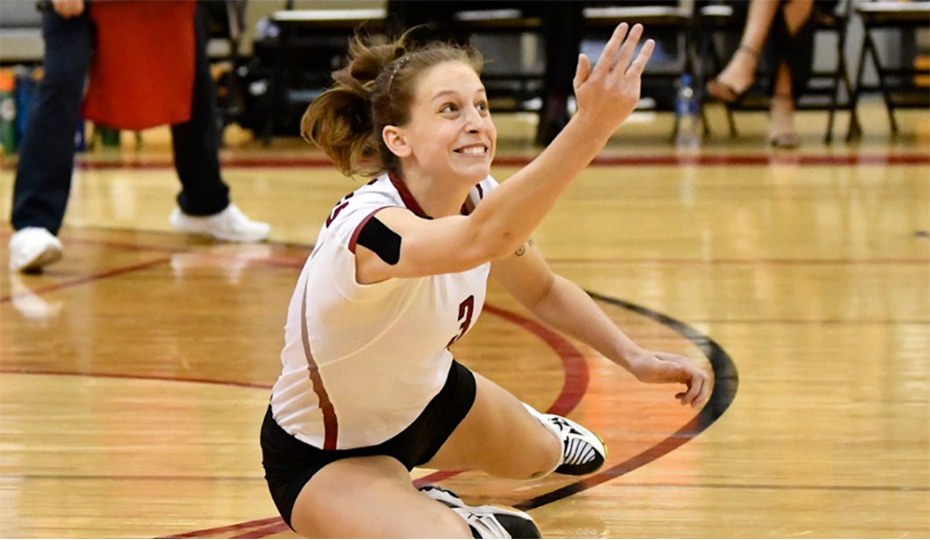 Photo for Placke, Williams, Meyer Push Volleyball Past Mount Marty