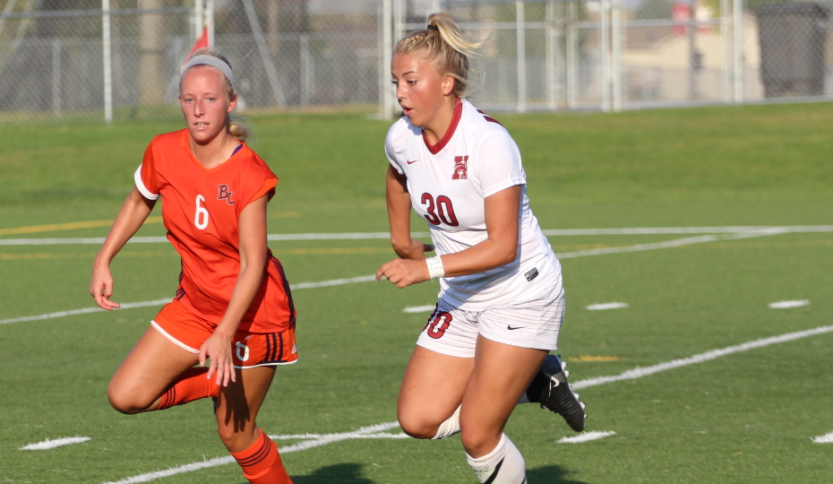 Photo for Sharp's Big Day Helps Women's Soccer Down Dakota Wesleyan